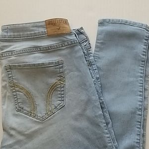 Hollister Super Skinny Lightwashed Jeans